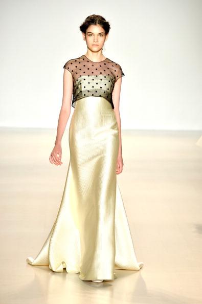 Cap Sleeve「Lela Rose - Runway - Mercedes-Benz Fashion Week Fall 2014」:写真・画像(14)[壁紙.com]