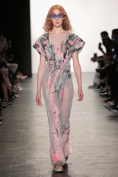 Nude Colored Dress「Academy of Art University Spring 2017 Collections - Runway」:写真・画像(18)[壁紙.com]