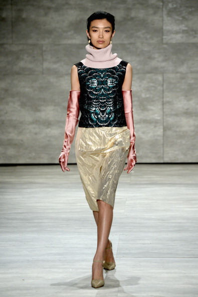 Metallic Shoe「Mercedes-Benz Fashion Week Fall 2014 - Official Coverage - Best Of Runway Day 1」:写真・画像(15)[壁紙.com]