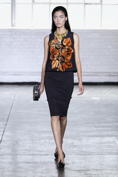 Black Skirt「Tanya Taylor - Runway - Mercedes-Benz Fashion Week Spring 2014」:写真・画像(19)[壁紙.com]