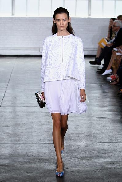 Flared Skirt「Tanya Taylor - Runway - Mercedes-Benz Fashion Week Spring 2014」:写真・画像(11)[壁紙.com]