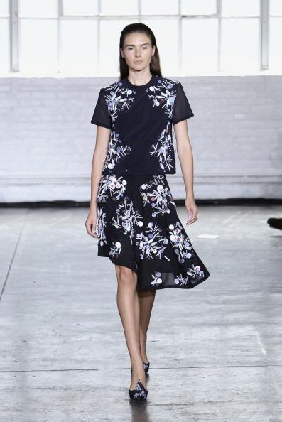 Black Skirt「Tanya Taylor - Runway - Mercedes-Benz Fashion Week Spring 2014」:写真・画像(18)[壁紙.com]