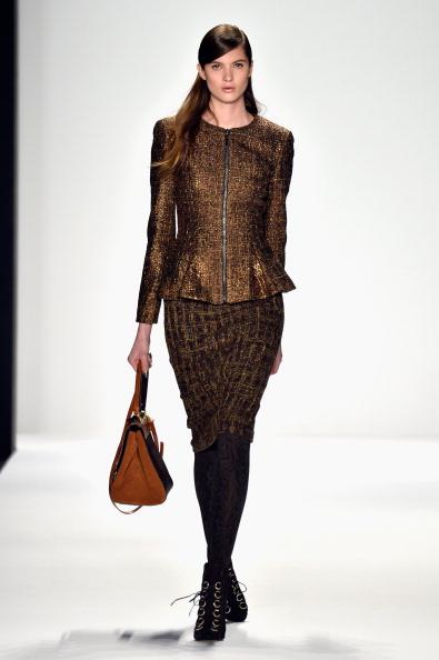 Black Shoe「Badgley Mischka - Runway - Mercedes-Benz Fashion Week Fall 2014」:写真・画像(12)[壁紙.com]