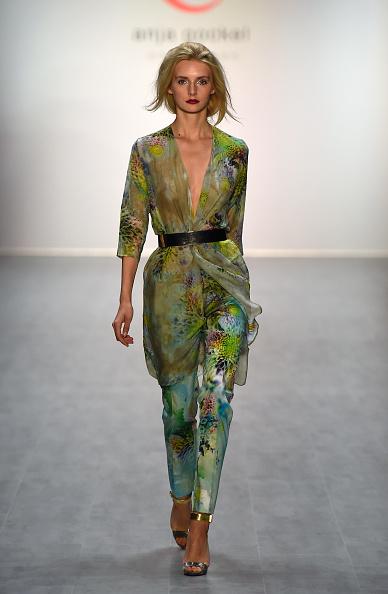 Metallic Shoe「Anja Gockel Show - Mercedes-Benz Fashion Week Spring/Summer 2015」:写真・画像(17)[壁紙.com]