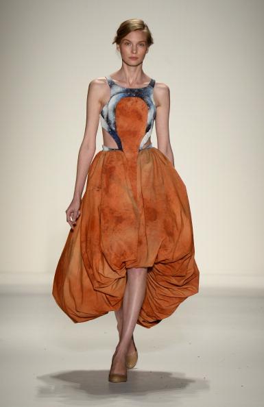 Cut Out Dress「Supima - Runway - Mercedes-Benz Fashion Week Spring 2014」:写真・画像(7)[壁紙.com]