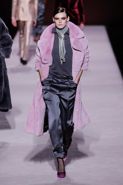 Fully Unbuttoned「Tom Ford FW 2019 - Runway - New York Fashion Week: The Shows」:写真・画像(18)[壁紙.com]