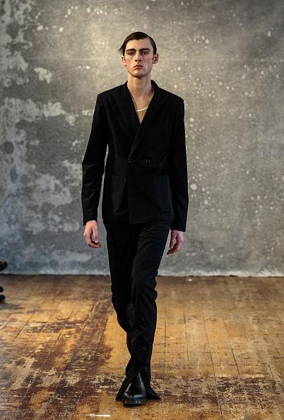 Black Shoe「Daniel w. Fletcher - Runway - LFWM January 2019」:写真・画像(16)[壁紙.com]