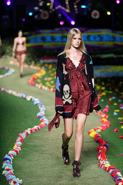 Brown Boot「Tommy Hilfiger Women's - Runway - Mercedes-Benz Fashion Week Spring 2015」:写真・画像(9)[壁紙.com]