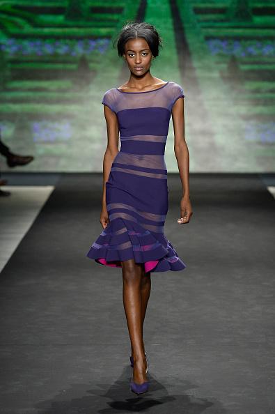 Striped Dress「La Petite Robe - Runway - Mercedes-Benz Fashion Week Fall 2015」:写真・画像(6)[壁紙.com]