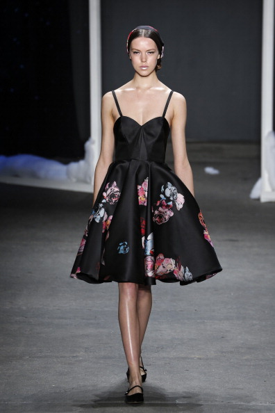 Floral Pattern「Honor - Runway - Mercedes-Benz Fashion Week Fall 2014」:写真・画像(13)[壁紙.com]