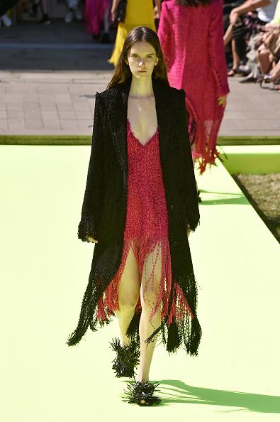 Black Coat「MSGM - Runway - Milan Fashion Week Spring/Summer 2020」:写真・画像(7)[壁紙.com]