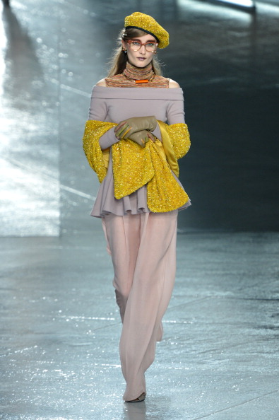 Beret「Rodarte - Runway - Mercedes-Benz Fashion Week Fall 2014」:写真・画像(13)[壁紙.com]