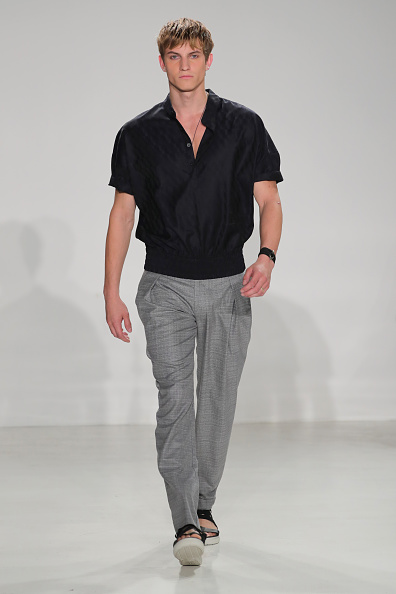 Black Color「Cadet - Runway - New York Fashion Week: Men's S/S 2017」:写真・画像(4)[壁紙.com]