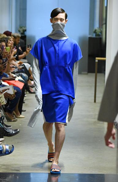 Blue Shorts「Apollonius - Runway - Spring 2016 New York Fashion Week」:写真・画像(14)[壁紙.com]