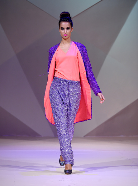 Dubai Fashion Week「Tahir Sultan Presented By W Retreat & Spa Maldives - Runway - Fashion Forward Dubai October 2014」:写真・画像(8)[壁紙.com]
