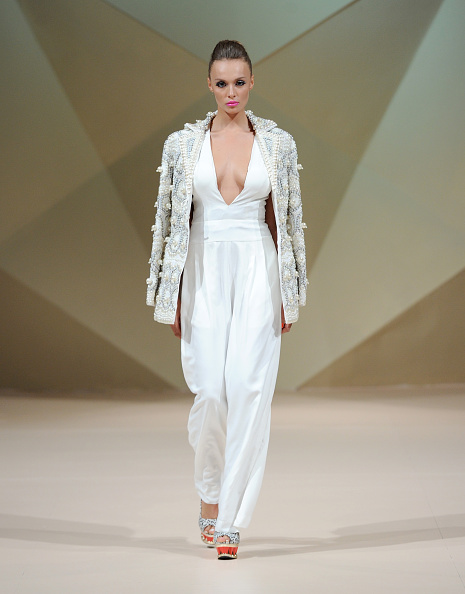Embellishment「Tahir Sultan Presented By W Retreat & Spa Maldives - Runway - Fashion Forward Dubai October 2014」:写真・画像(4)[壁紙.com]