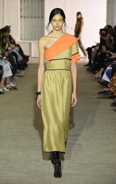 Yellow Dress「Maryam Nassir Zadeh - Runway - February 2018 - New York Fashion Week」:写真・画像(11)[壁紙.com]