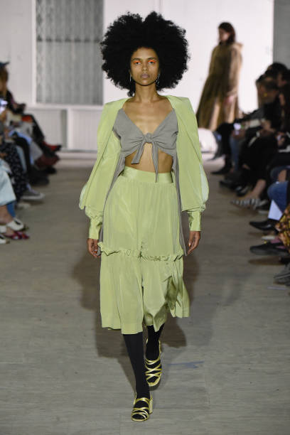 Curly Hair「Maryam Nassir Zadeh - Runway - February 2018 - New York Fashion Week」:写真・画像(12)[壁紙.com]