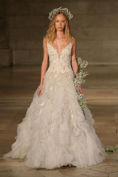 Wedding Dress「Reem Acra FW 2018 Bridal Show」:写真・画像(5)[壁紙.com]