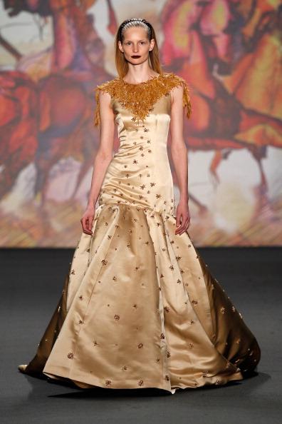 Cream Colored「Kilian Kerner Show - Mercedes-Benz Fashion Week Autumn/Winter 2014/15」:写真・画像(8)[壁紙.com]