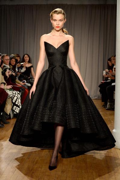 Black Dress「Zac Posen - Runway - Mercedes-Benz Fashion Week Fall 2014」:写真・画像(19)[壁紙.com]