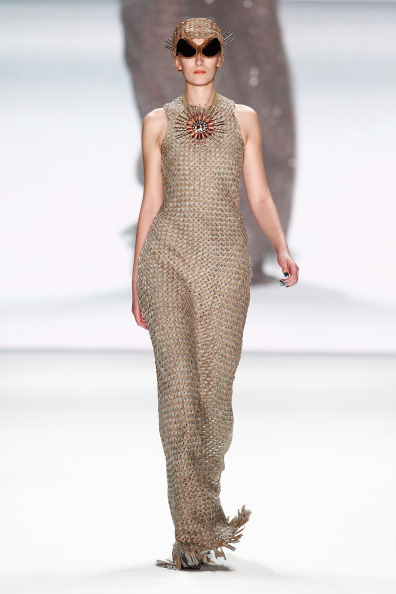 Cream Colored「Miranda Konstantinidou Show - Mercedes-Benz Fashion Week Autumn/Winter 2014/15」:写真・画像(11)[壁紙.com]