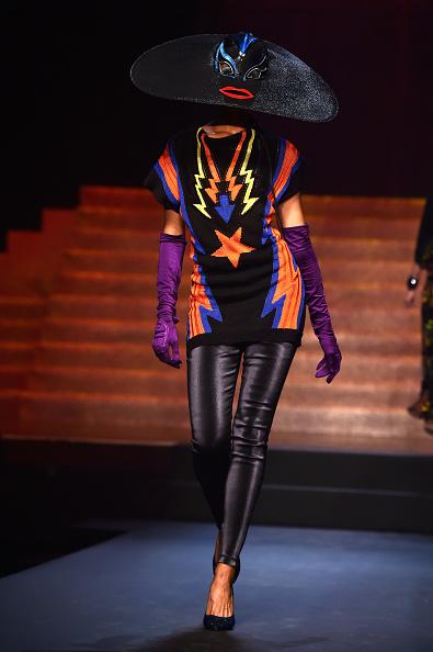 Black Shoe「Jean Paul Gaultier : Runway - Paris Fashion Week Womenswear Spring/Summer 2015」:写真・画像(8)[壁紙.com]
