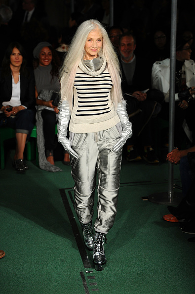 Striped「Jean Paul Gaultier : Runway - Paris Fashion Week Womenswear Fall/Winter 2014-2015」:写真・画像(7)[壁紙.com]