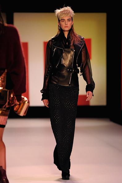 Leather Jacket「Jean Paul Gaultier - Runway - PFW F/W 2013」:写真・画像(14)[壁紙.com]