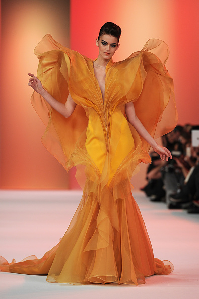 Pascal Le Segretain「Stephane Rolland : Runway - Paris Fashion Week - Haute Couture S/S 2014」:写真・画像(11)[壁紙.com]
