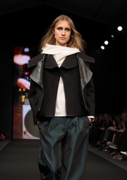 Leather Jacket「Altewai Saome: Mercedes-Benz Stockholm Fashion Week A/W 2013」:写真・画像(4)[壁紙.com]