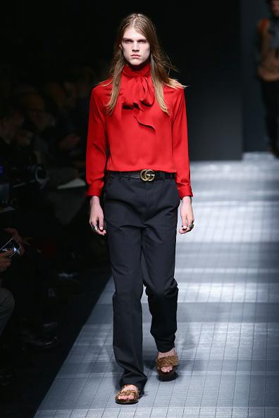 Men「GUCCI SHOW - Runway - Milan Menswear Fashion Week Fall Winter 2015/2016」:写真・画像(10)[壁紙.com]