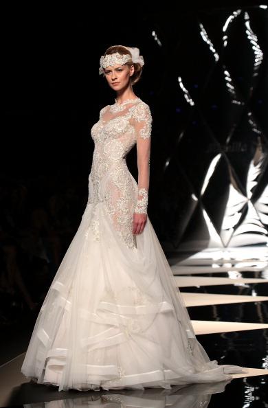 Wedding Dress「Mireille Dagher - AltaRoma AltaModa July 2013」:写真・画像(2)[壁紙.com]