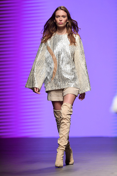 Cream Colored Shorts「Madiyah Al Sharqi - Runway - Dubai FFWD Spring/Summer 2017」:写真・画像(16)[壁紙.com]