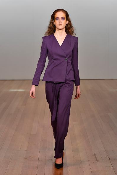 Purple「Jojo Ross - Runway - New Zealand Fashion Week 2019」:写真・画像(4)[壁紙.com]