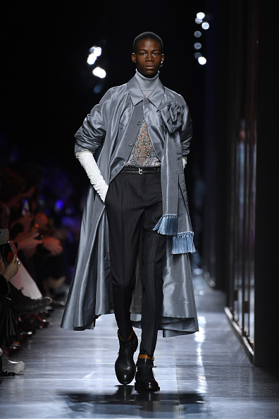 Leather Boot「Dior Homme : Runway - Paris Fashion Week - Menswear F/W 2020-2021」:写真・画像(10)[壁紙.com]