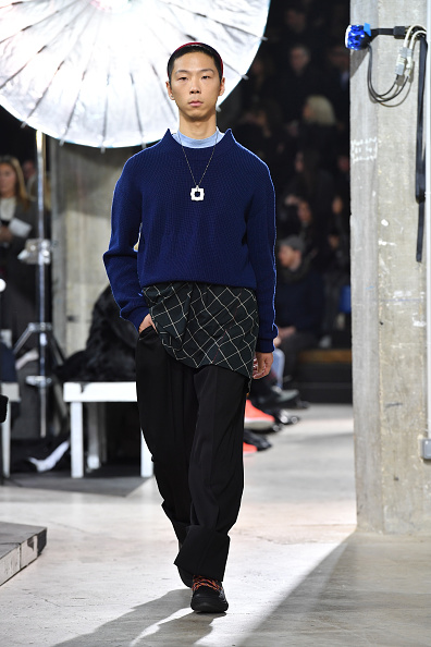 Lanvin Menswear「Lanvin: Runway - Paris Fashion Week - Menswear F/W 2017-2018」:写真・画像(13)[壁紙.com]