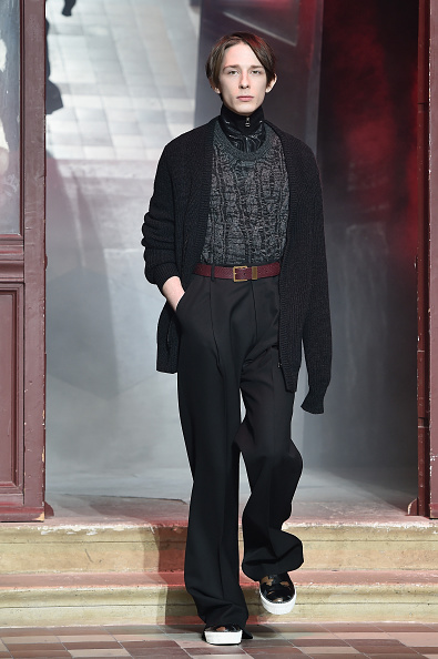 Lanvin Menswear「Lanvin : Runway - Paris Fashion Week - Menswear F/W 2015-2016」:写真・画像(6)[壁紙.com]