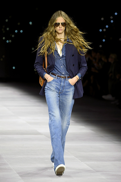 Jeans「Celine : Runway - Paris Fashion Week - Womenswear Spring Summer 2020」:写真・画像(17)[壁紙.com]