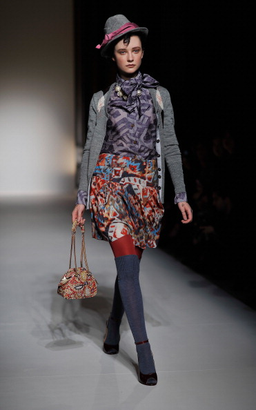 Hosiery「Vivienne Westwood Red Label: Runway - LFW Autumn/Winter 2012」:写真・画像(7)[壁紙.com]