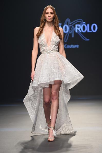 High Low Dress「Joao Rolo International - Runway - FFWD October 2017」:写真・画像(0)[壁紙.com]
