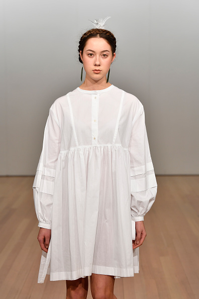 Baby Doll Dress「Campbell Luke - Runway - New Zealand Fashion Week 2019」:写真・画像(12)[壁紙.com]