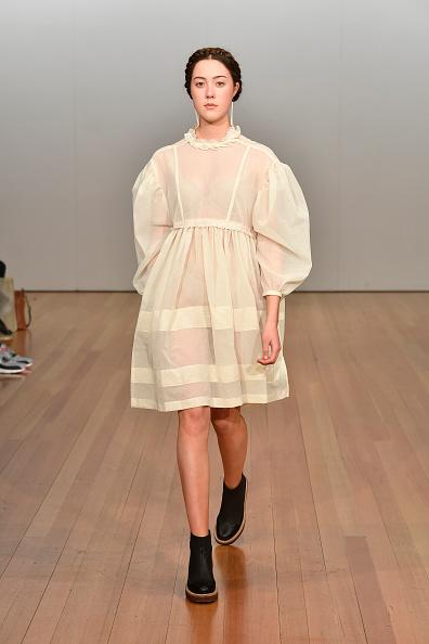 Baby Doll Dress「Campbell Luke - Runway - New Zealand Fashion Week 2019」:写真・画像(3)[壁紙.com]