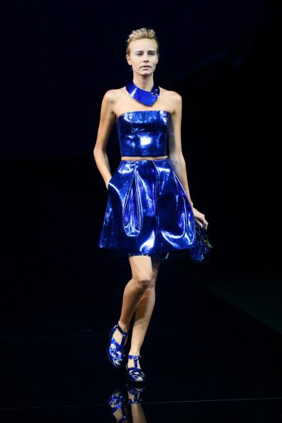 Open Toe「Emporio Armani - Runway - Milan Fashion Week Womenswear Spring/Summer 2015」:写真・画像(13)[壁紙.com]