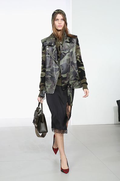 Leather Jacket「Michael Kors Collection Fall 2018 Runway Show」:写真・画像(11)[壁紙.com]
