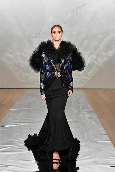 Mermaid Dress「Cecilia Kang Couture, Face Me Make-Up - Runway - New Zealand Fashion Week 2019」:写真・画像(2)[壁紙.com]