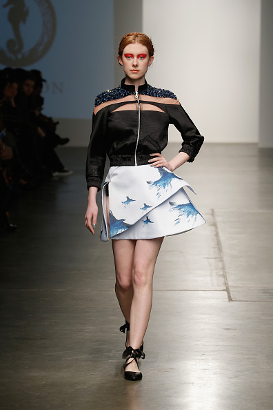 Middle Hair Part「Nolcha New York Fashion Week Fall Winter 2015/2016 - Prieston」:写真・画像(7)[壁紙.com]