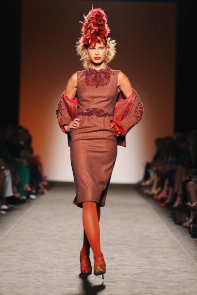Embellishment「Curiel Couture - Runway - Altamoda Altaroma」:写真・画像(5)[壁紙.com]
