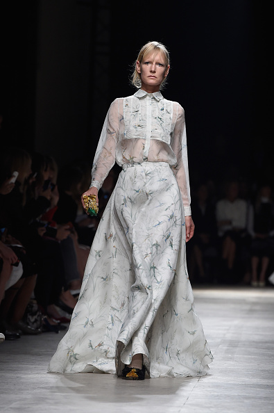 Long Sleeved「Rochas : Runway - Paris Fashion Week Womenswear Spring/Summer 2015」:写真・画像(6)[壁紙.com]