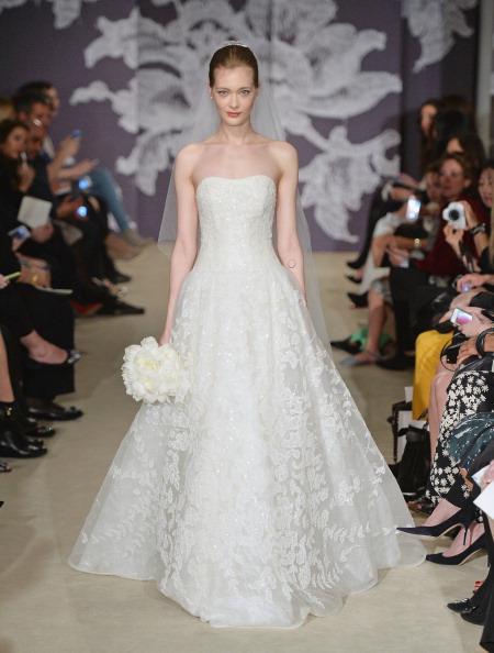 Bride「Spring 2015 Bridal Collection - Carolina Herrera - Show」:写真・画像(19)[壁紙.com]